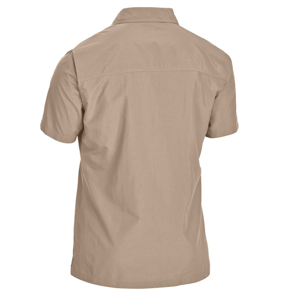 EMS Men's Trailhead Short-Sleeve Shirt - WALNUT
