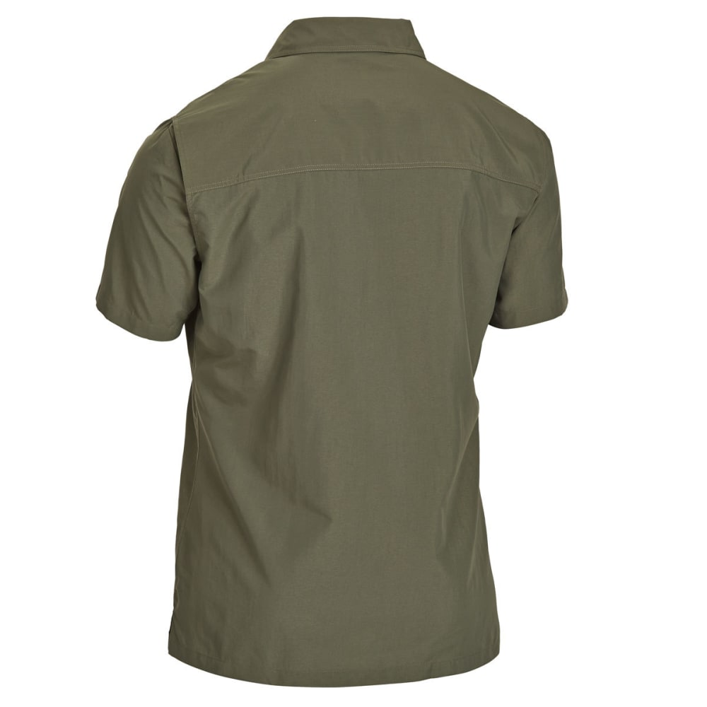 EMS Men's Trailhead Short-Sleeve Shirt - FOREST NIGHT