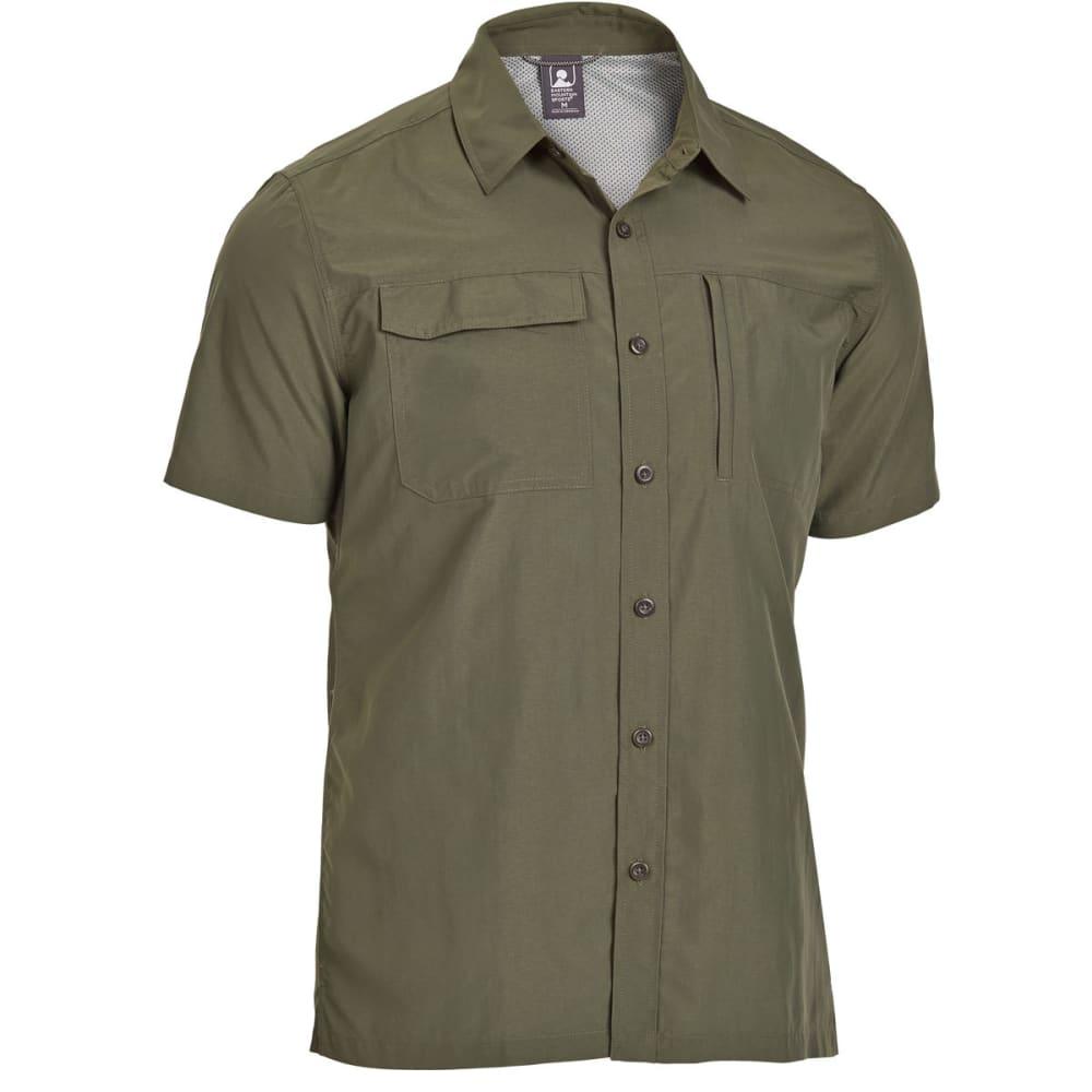 EMS Men's Trailhead Short-Sleeve Shirt - FOREST NIGHT