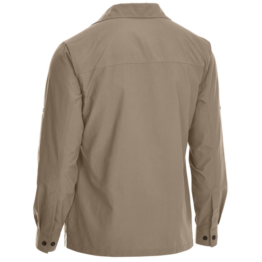 EMS Men's Trailhead UPF Long-Sleeve Shirt - WALNUT