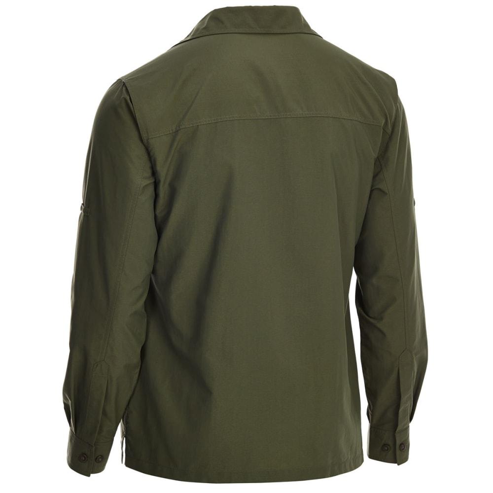 EMS Men's Trailhead UPF Long-Sleeve Shirt - FOREST NIGHT