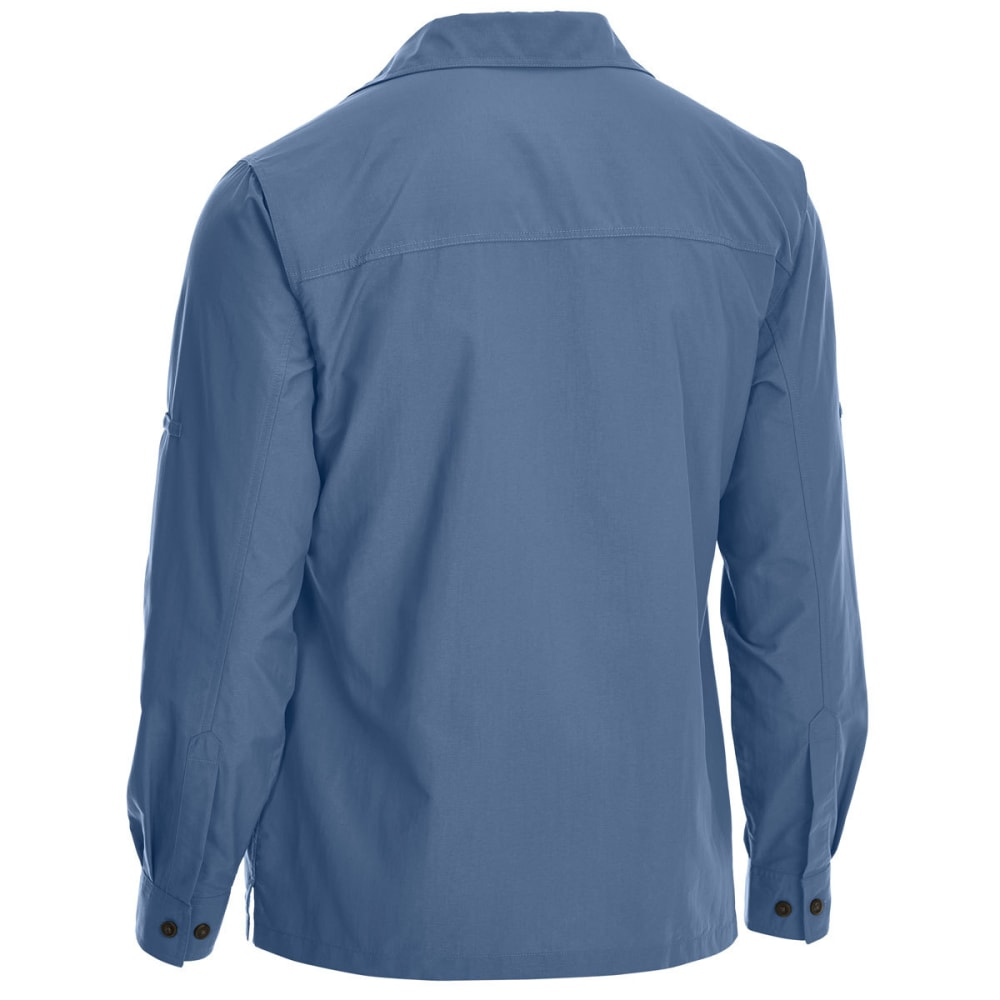 EMS Men's Trailhead UPF Long-Sleeve Shirt - VINTAGE INDIGO