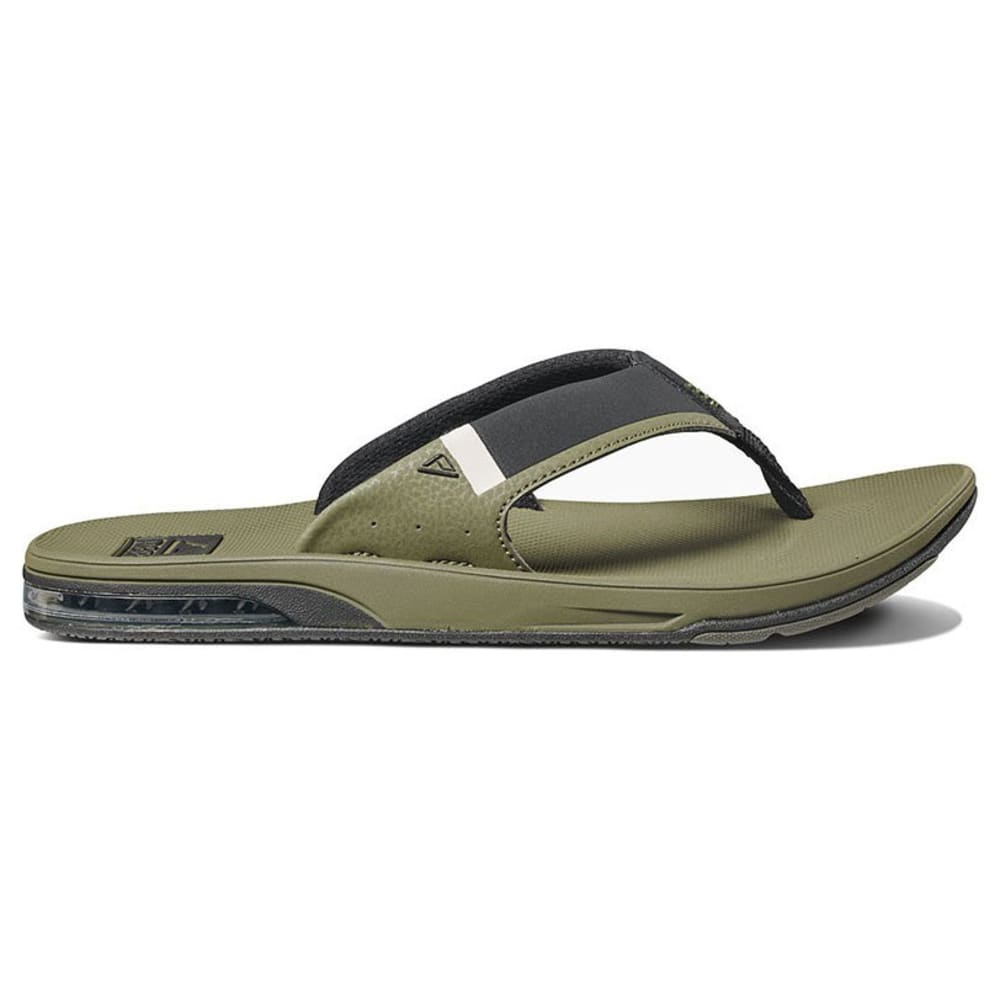 REEF Men's Fanning Low Sandals - OLIVE -OLI