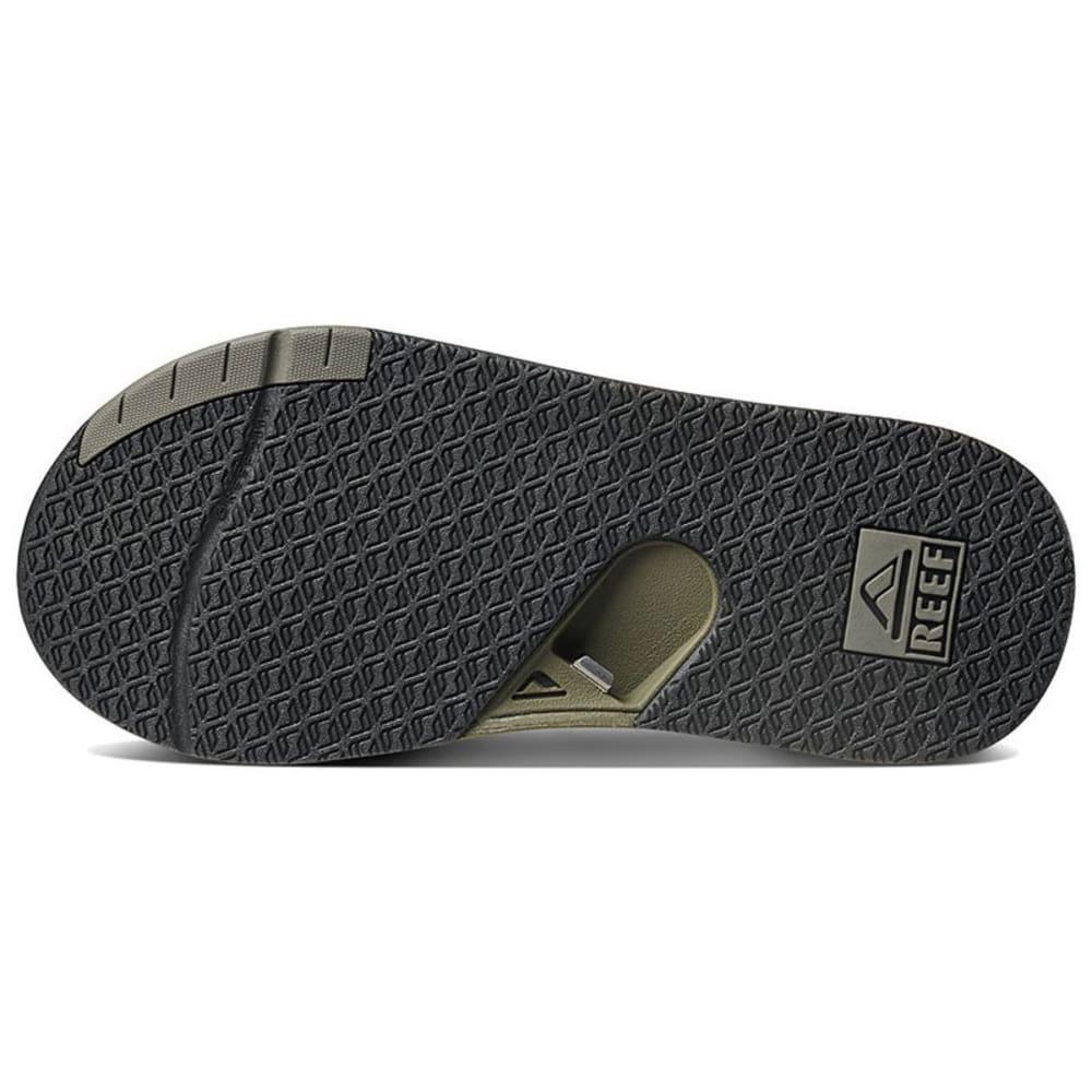 REEF Men's Fanning Low Sandals - OLIVE -OLI