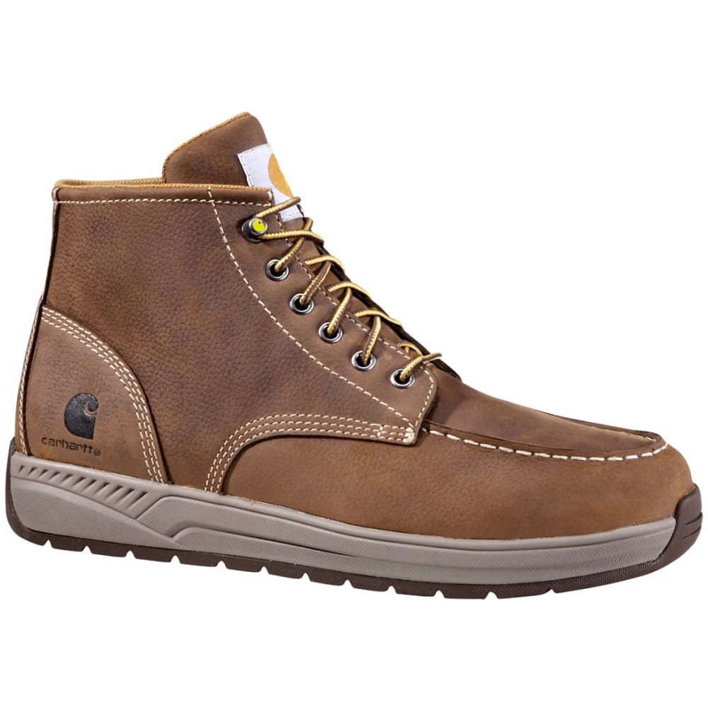 CARHARTT Men's 4-Inch Lightweight Wedge Boots, Brown - DK BISON OIL TANNED