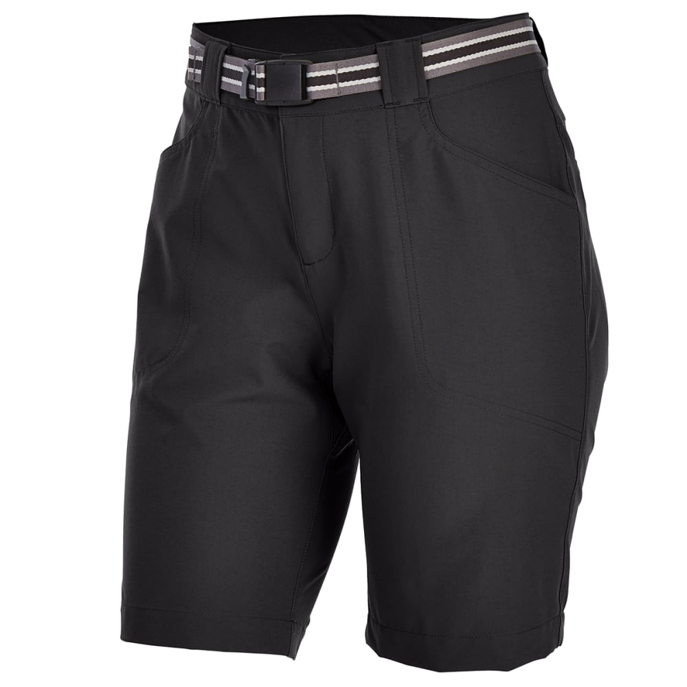 EMS Women's 9 in. Compass Trek Shorts - BLACK