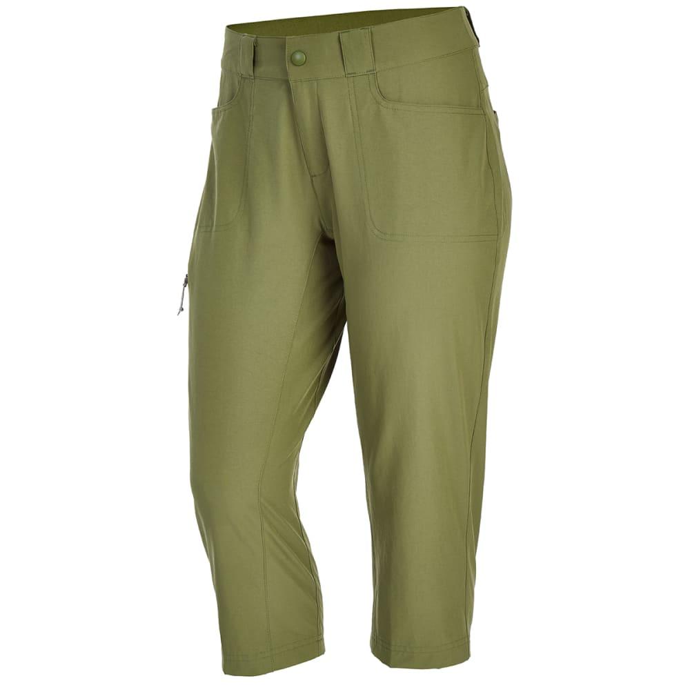 EMS Women's Compass Trek Capri Pants - WINTER MOSS