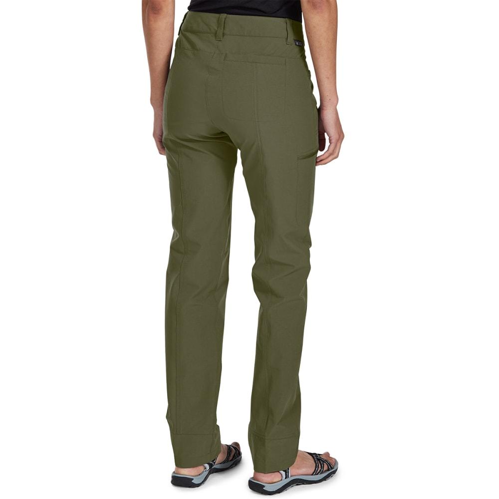EMS Women's Compass Slim Pants - WINTER MOSS