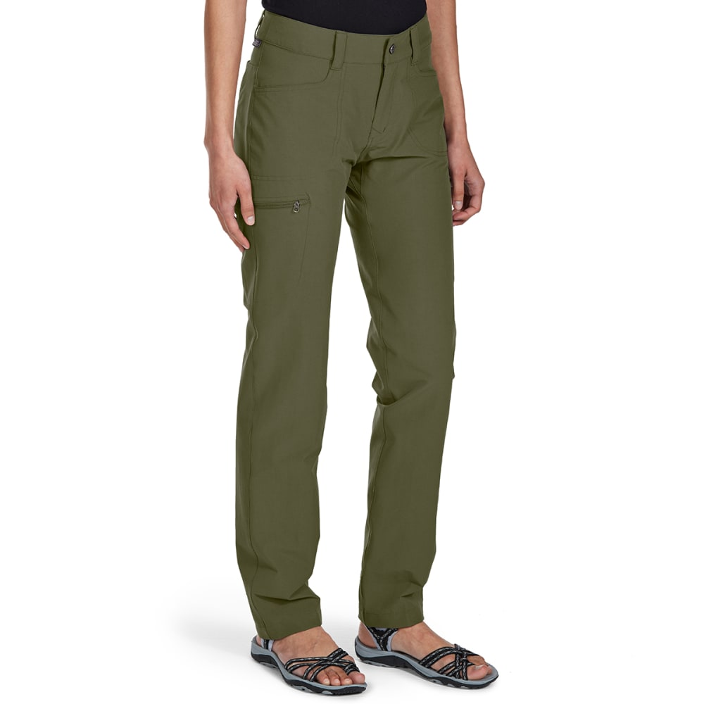 EMS Women's Compass Slim Pants - WINTER MOSS