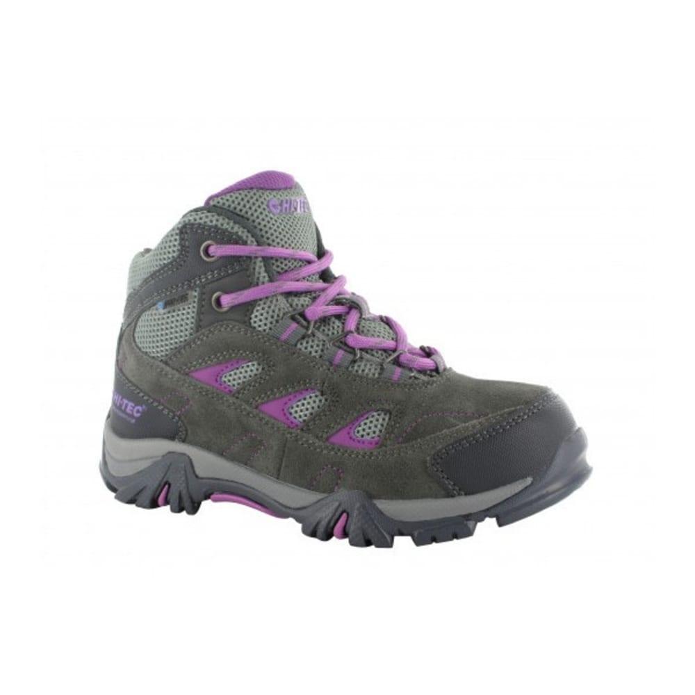 HI TEC Kid's Logan WP Hiking Shoe, Grey 1
