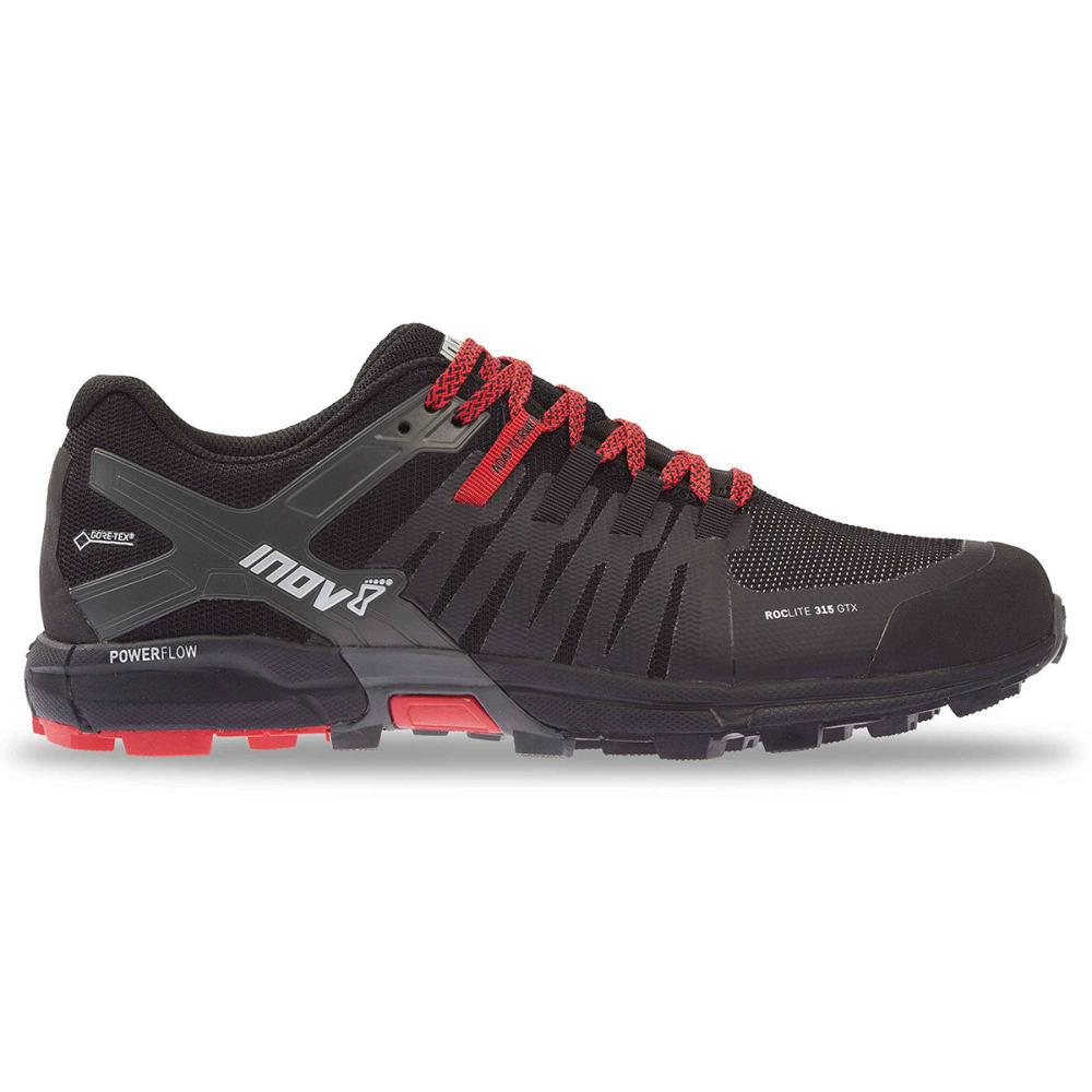 INOV-8 Men's Roclite 315 GTX Trail Running Shoes - BLACK/RED