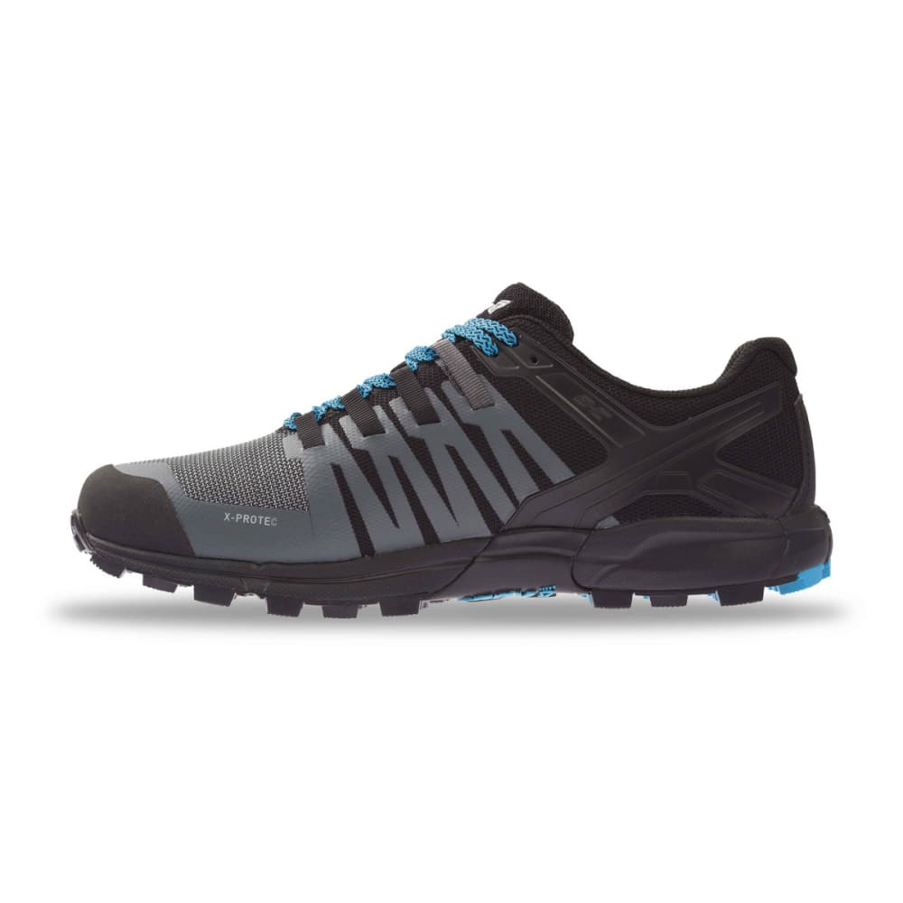 INOV-8 Men's Roclite 315 Trail Running Shoes - GREY/BLACK/BLUE