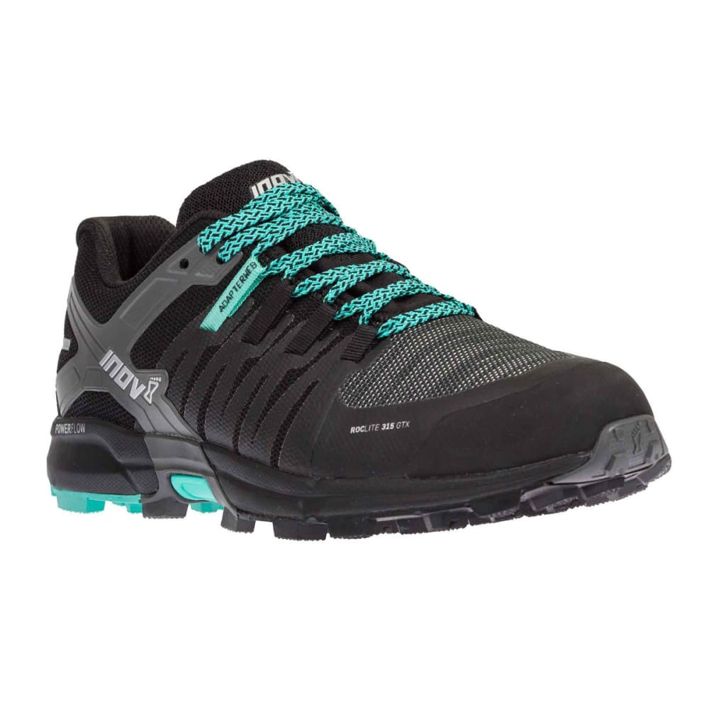 INOV-8 Women's Roclite 315 GTX Trail Running Shoes - BLACK/TEAL