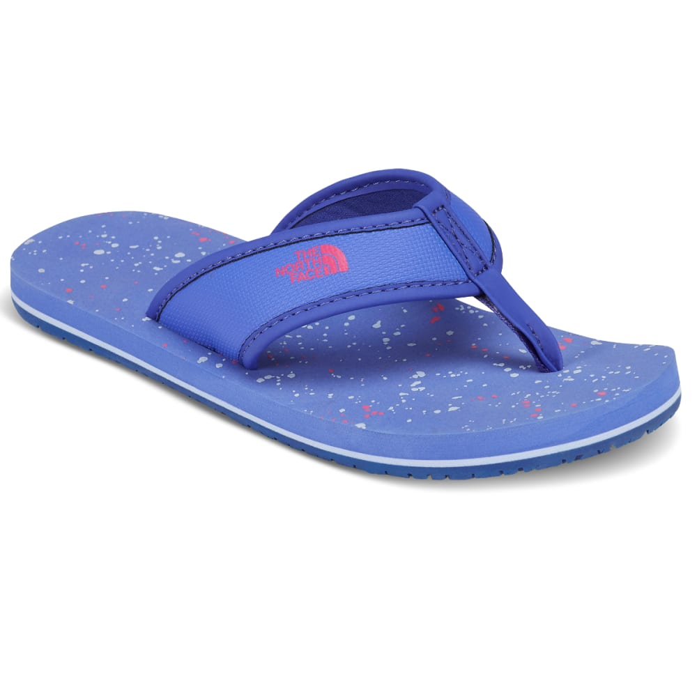 THE NORTH FACE Girls' Base Camp Flip-Flops - STELLAR BLUE
