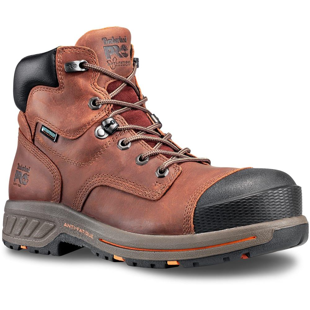 TIMBERLAND PRO Men's 6 in. Helix HD Waterproof Soft Toe Work Boots 8