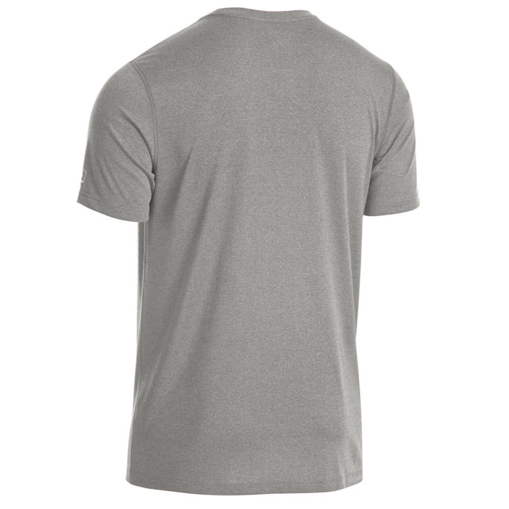 EMS Men's Techwick Essentials Short-Sleeve Shirt - NEUTRAL GREY HTR