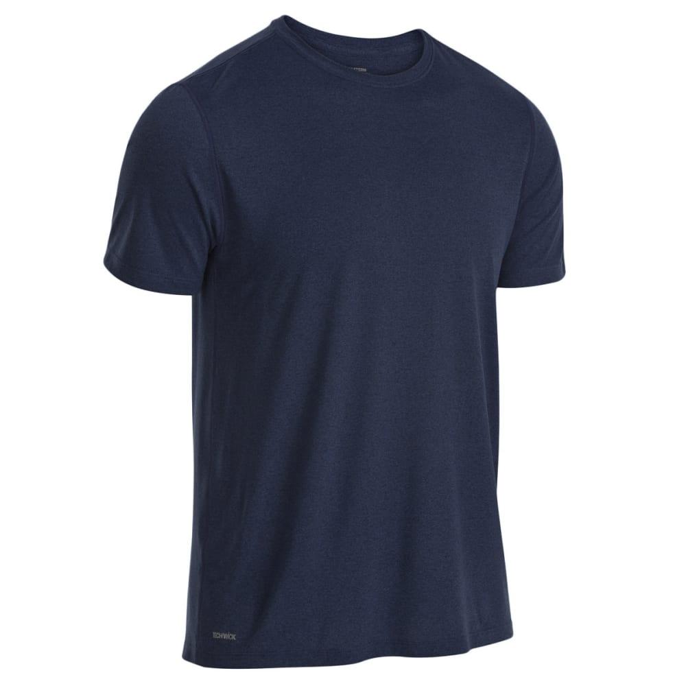 EMS Men's Techwick Essentials Short-Sleeve Shirt - DRESS BLUES