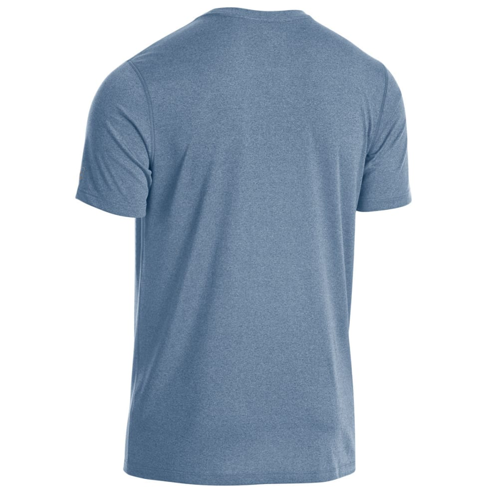 EMS Men's Techwick Essentials Short-Sleeve Shirt - ENSIGN BLUE HTR