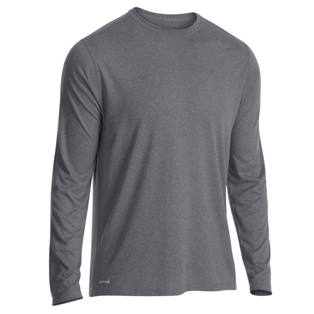 EMS Men's Techwick Essentials Long-Sleeve Shirt - PHANTOM HTR