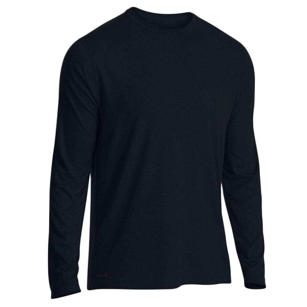 EMS Men's Techwick Essentials Long-Sleeve Shirt - BLACK