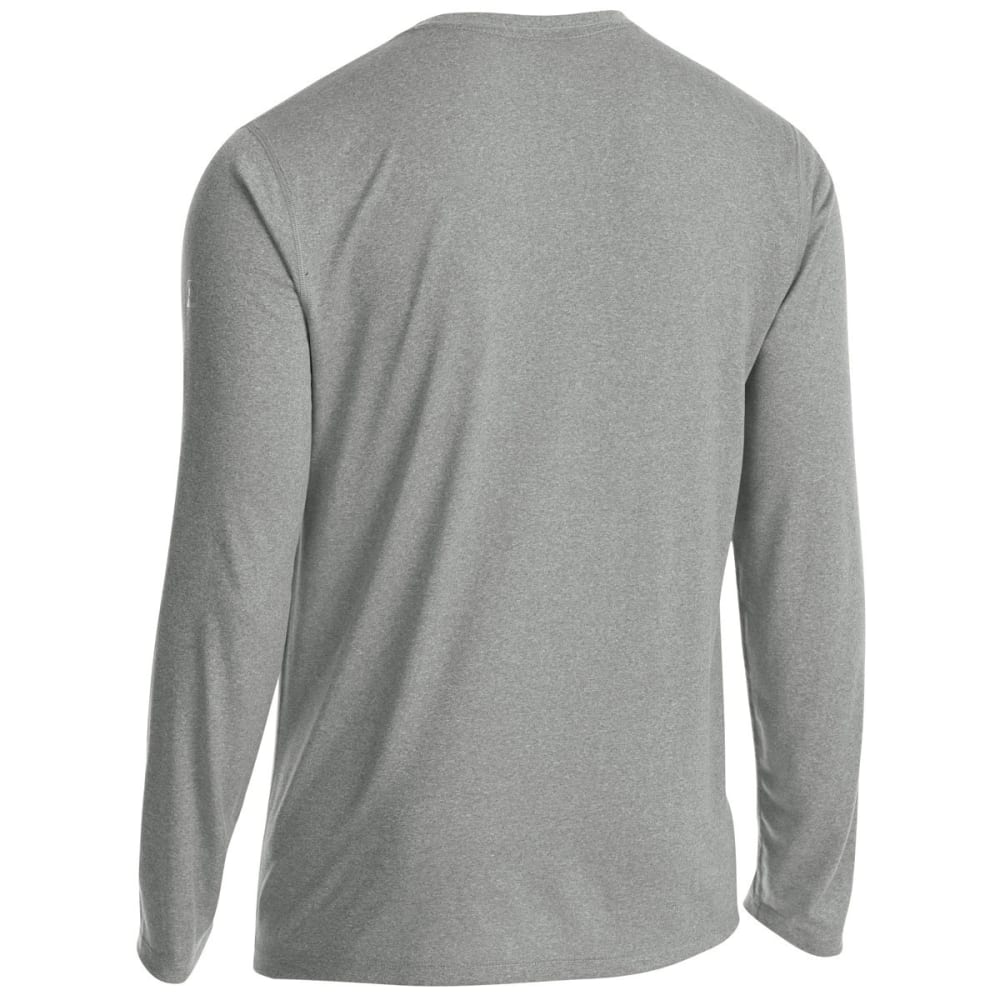 EMS Men's Techwick Essentials Long-Sleeve Shirt - NEUTRAL GREY HTR