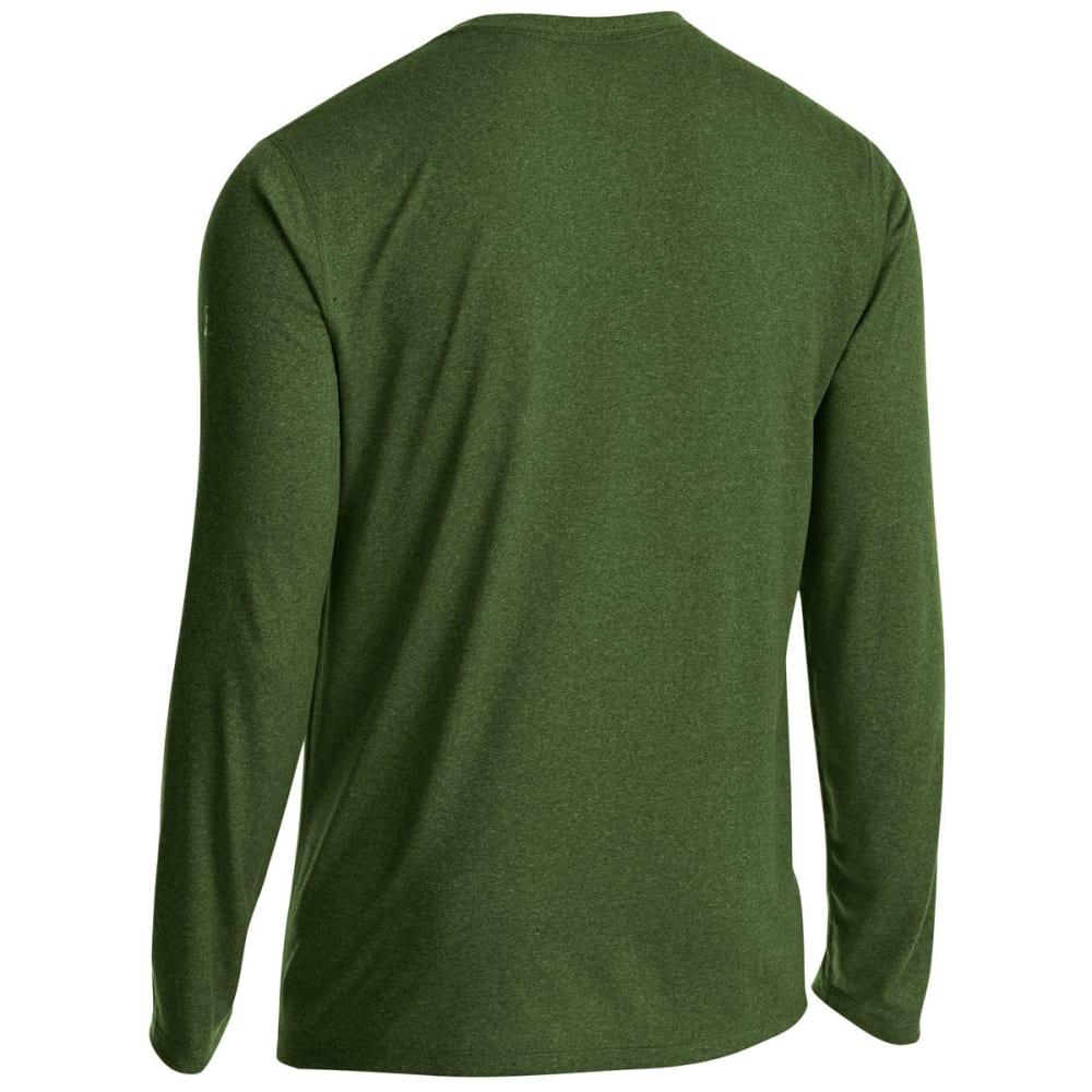 EMS Men's Techwick Essentials Long-Sleeve Shirt - RIFLE GREEN/TWSTLIME