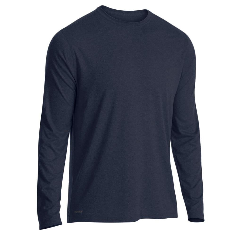EMS Men's Techwick Essentials Long-Sleeve Shirt - DRESS BLUES
