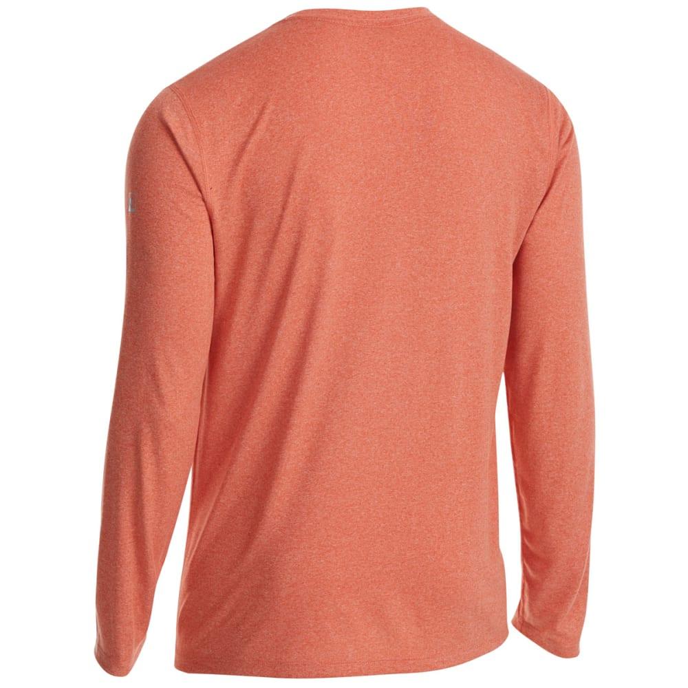 EMS Men's Techwick Essentials Long-Sleeve Shirt - RED CLAY HTR