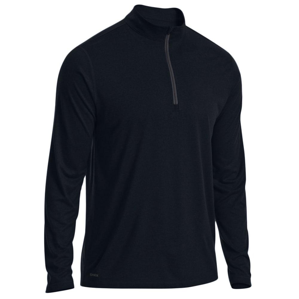 EMS Men's Techwick Essentials 1/4 Zip Pullover - BLACK