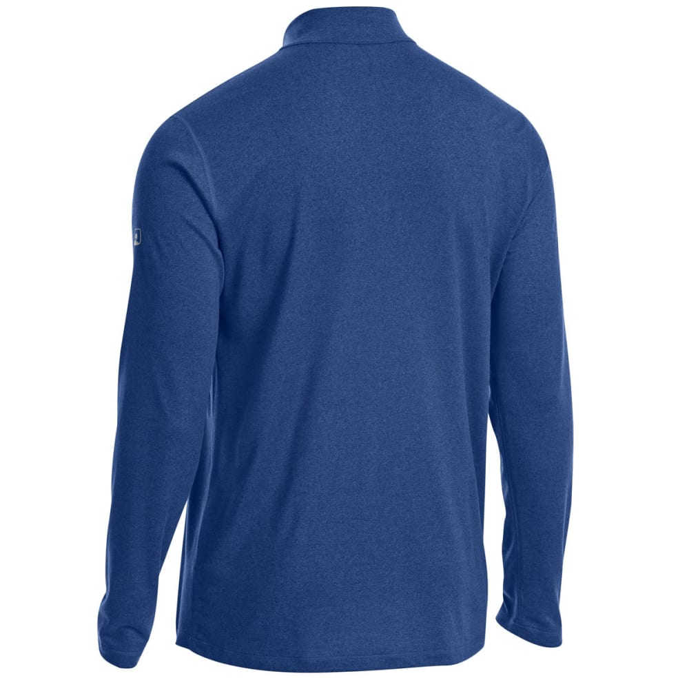 EMS Men's Techwick Essentials 1/4 Zip Pullover - ESTATE BLUE/GALXY BL