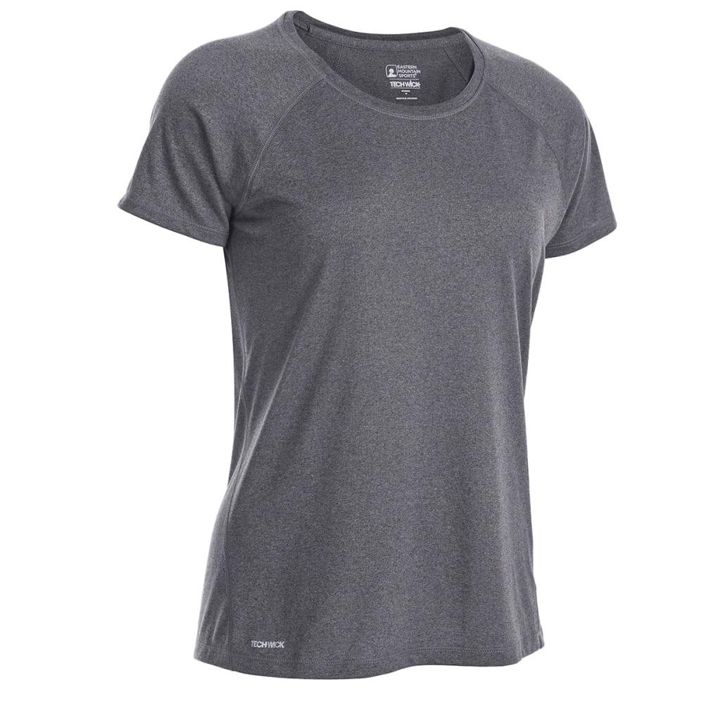 EMS Women's Techwick Essence Crew Short-Sleeve Shirt - PHANTOM HTR