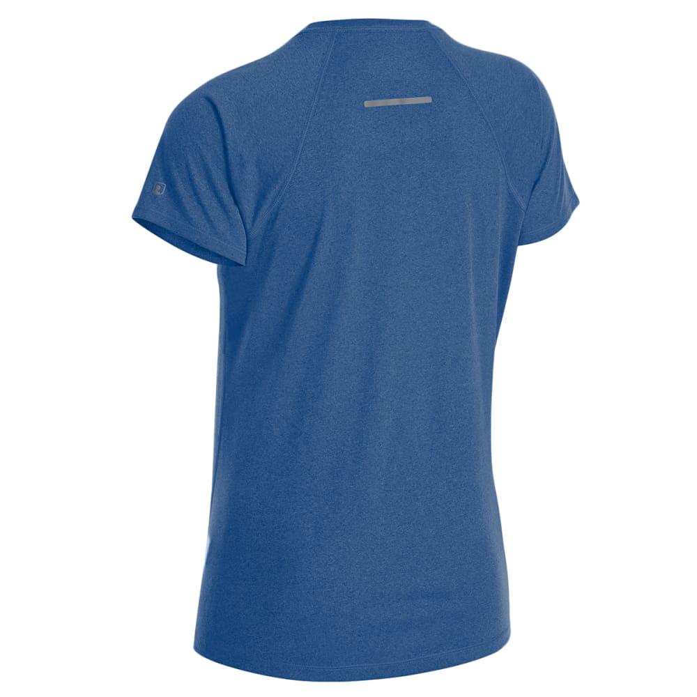 EMS Women's Techwick Essence Crew Short-Sleeve Shirt - BALEINE BLUE