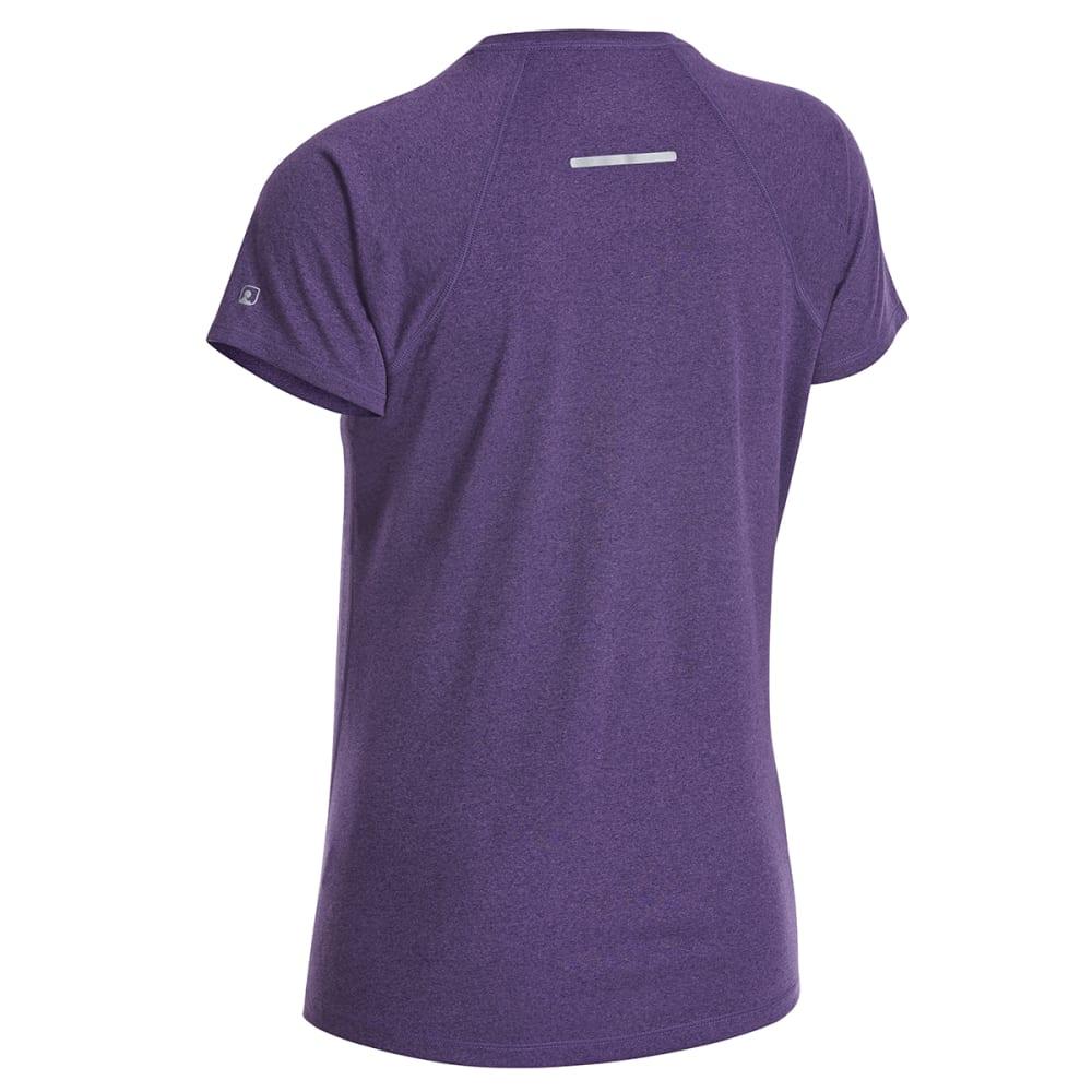 EMS Women's Techwick Essence Crew Short-Sleeve Shirt - PARACHUTE PRLPL/MYST