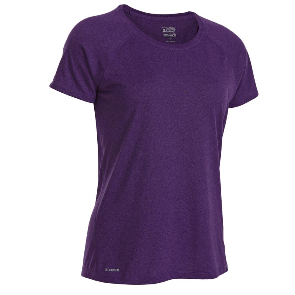 EMS Women's Techwick Essence Crew Short-Sleeve Shirt - ACAI