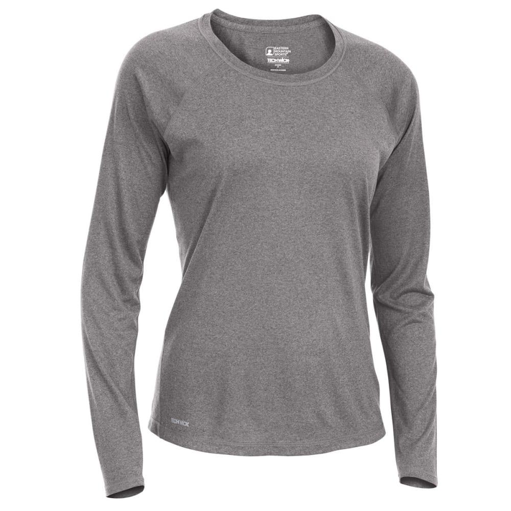 EMS Women's Techwick Essence Crew Long-Sleeve Shirt - PHANTOM HTR