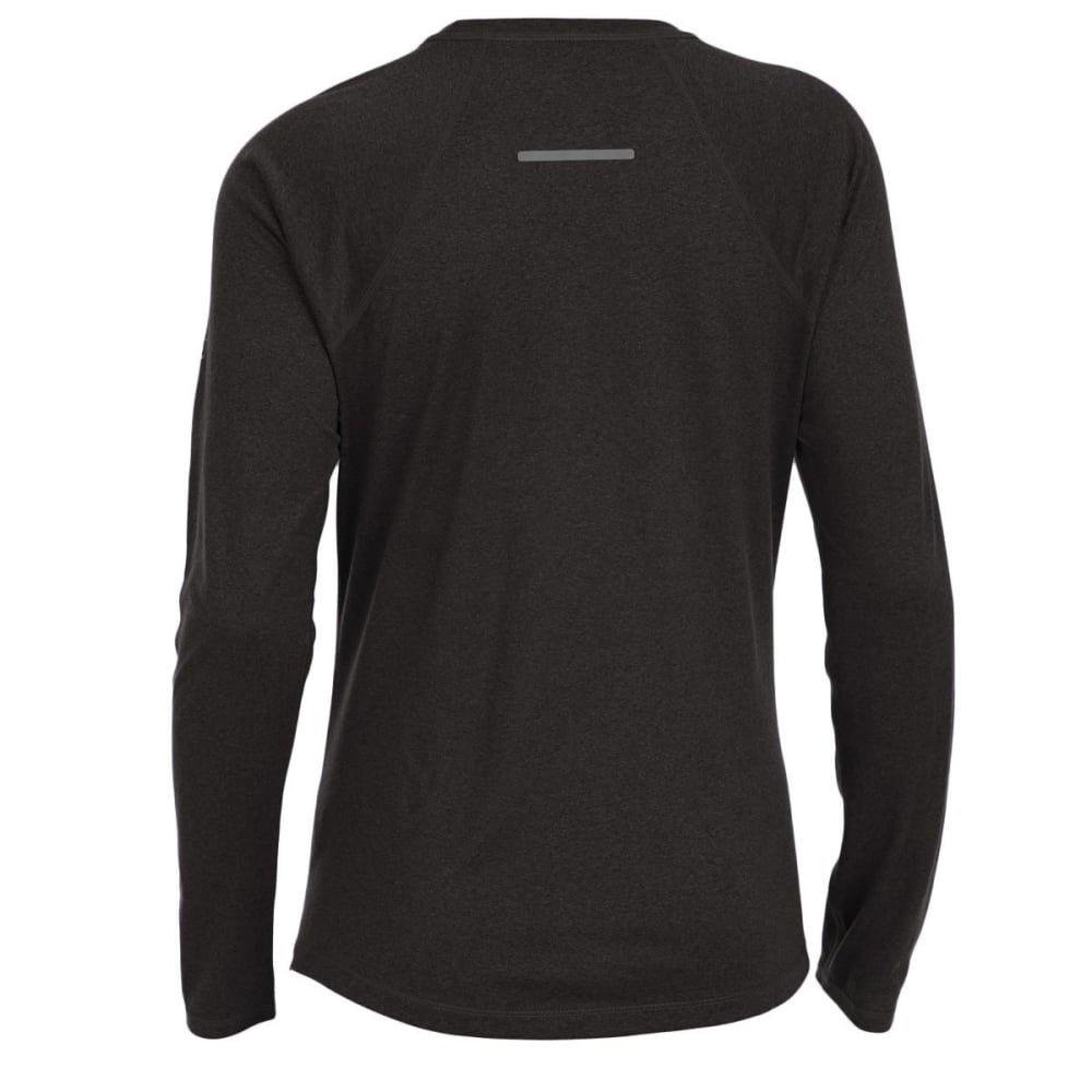 EMS Women's Techwick Essence Crew Long-Sleeve Shirt - BLACK