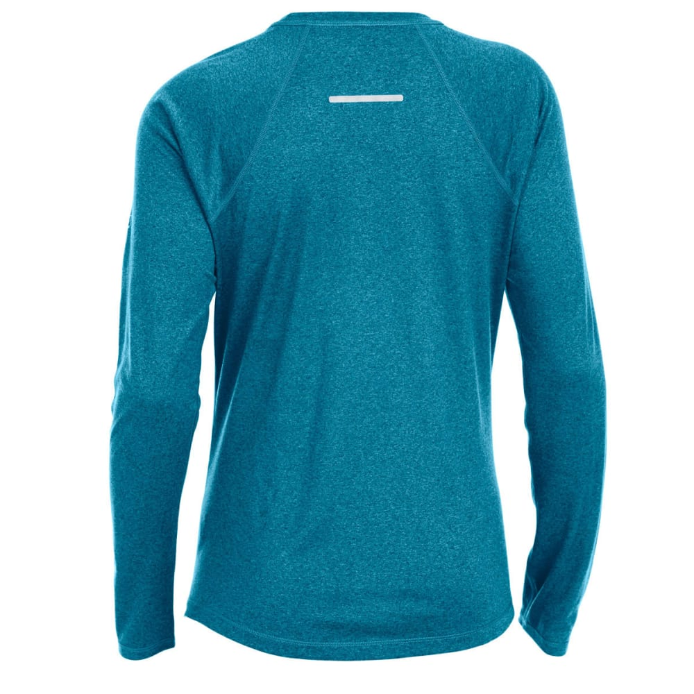 EMS Women's Techwick Essence Crew Long-Sleeve Shirt - DEEP LAGOON/ TAH HTR