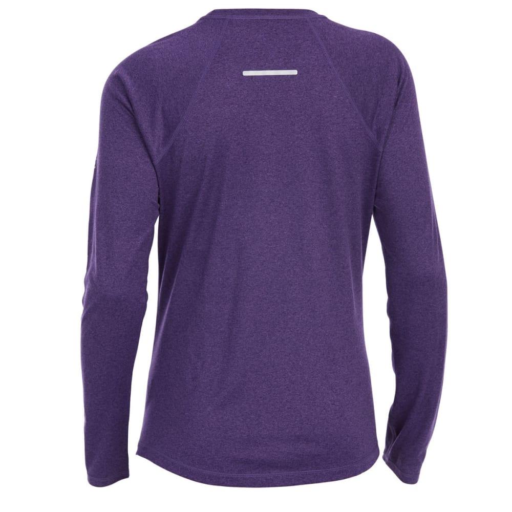 EMS Women's Techwick Essence Crew Long-Sleeve Shirt - PARACHUTE PRPLE MYST