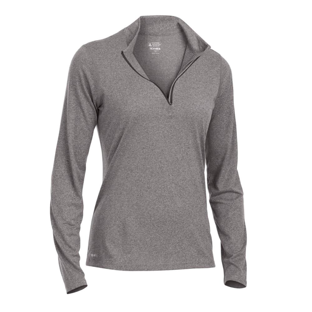 EMS Women's Techwick Essence 1/4-Zip Pullover - PHANTOM HTR