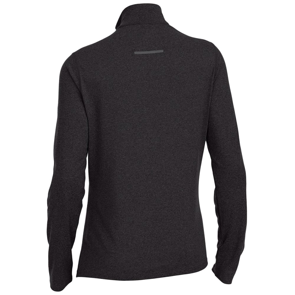 EMS Women's Techwick Essence 1/4-Zip Pullover - BLACK