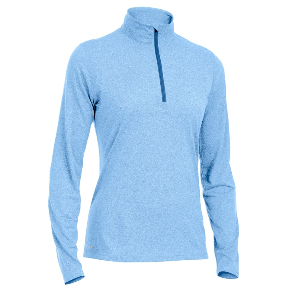 EMS Women's Techwick Essence 1/4-Zip Pullover - ULTRAMARINE HTR