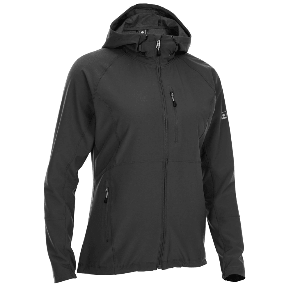 EMS Women's Softshell Jacket - BLACK