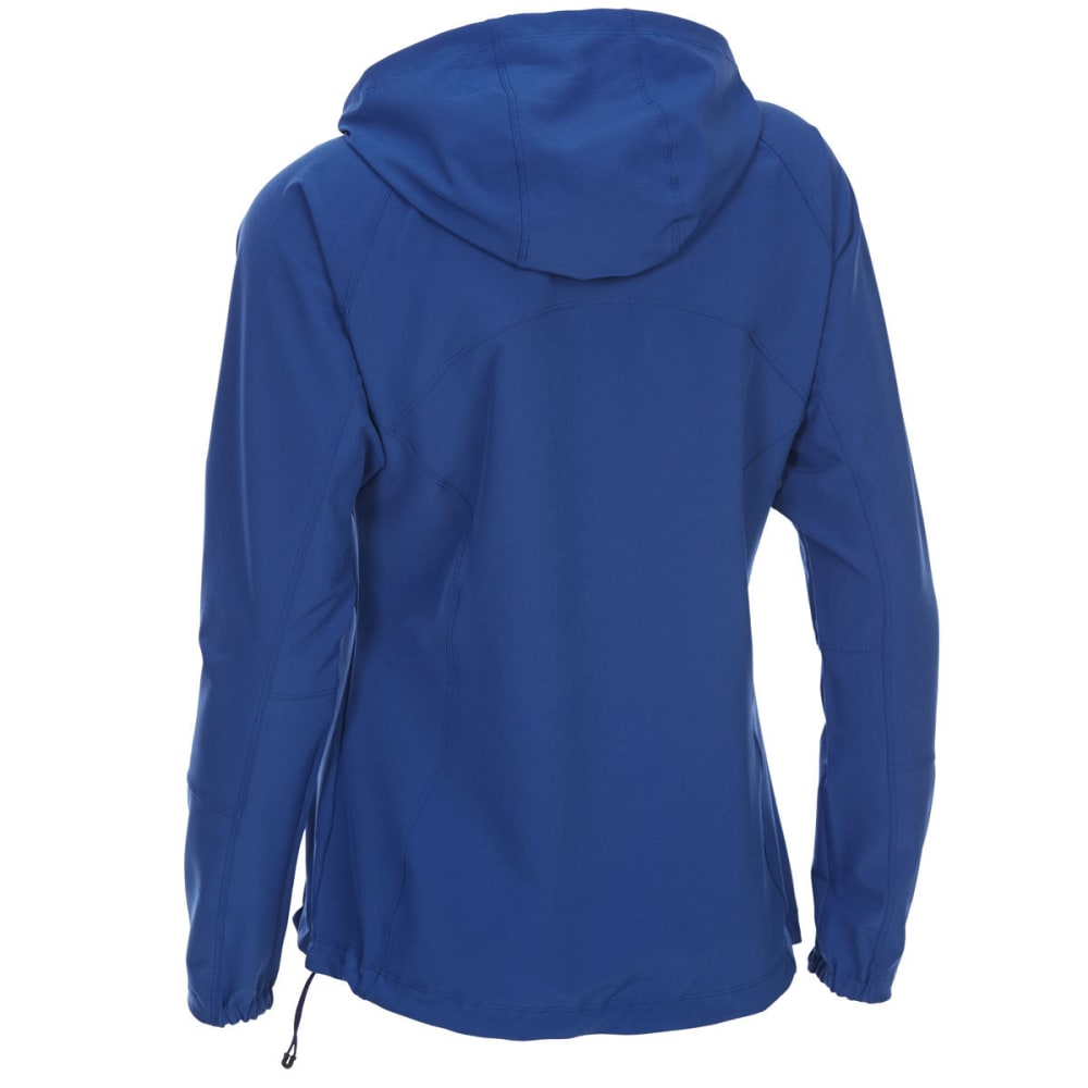EMS Women's Softshell Jacket - MAZARINE BLUE