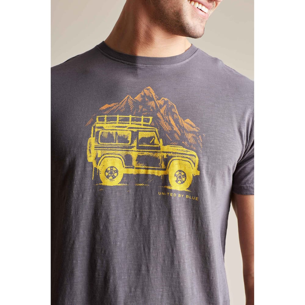 UNITED BY BLUE Men's Adventure Mobile Short-Sleeve Tee - CHARCOAL-29