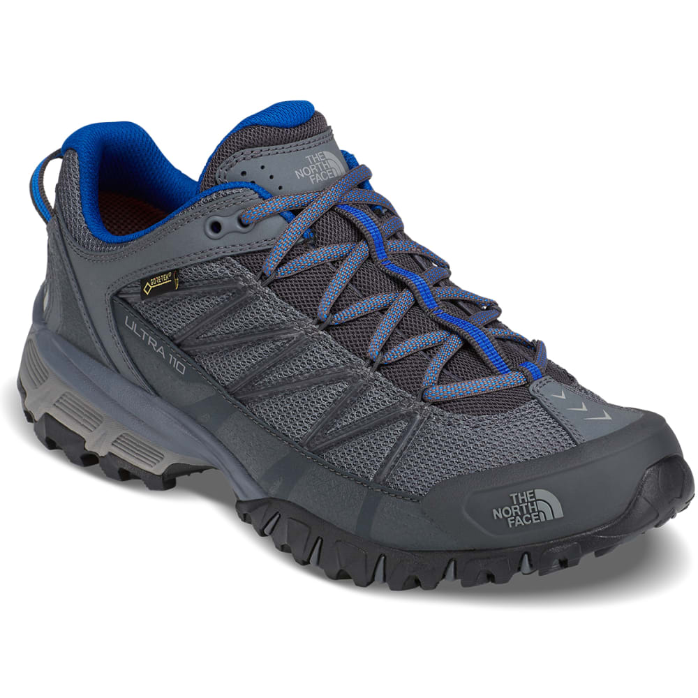 THE NORTH FACE Men's Ultra 110 GTX Waterproof Trail Running Shoes - ZINC GREY