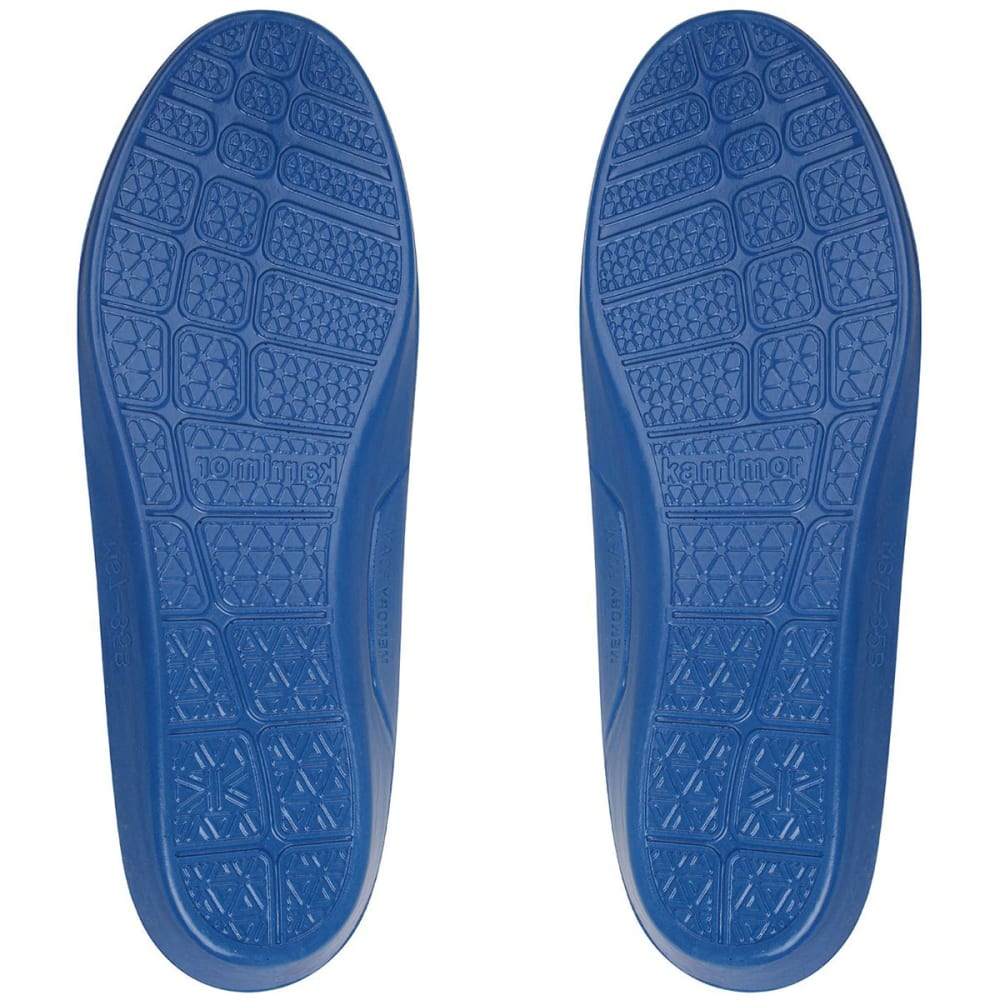 KARRIMOR Men's Memory Soft Insoles - BLUE