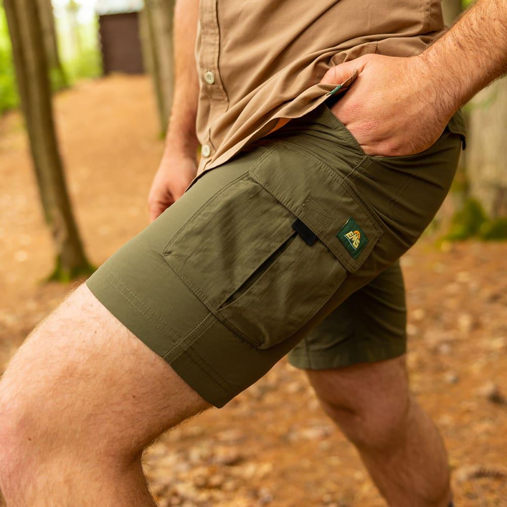 EMS Men's Camp Cargo Shorts - TARMAC