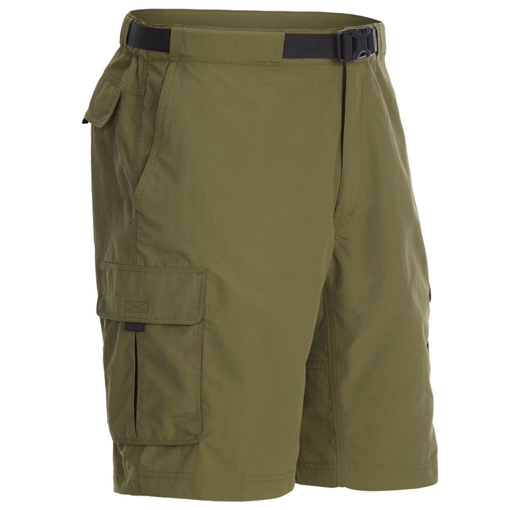 EMS Men's Camp Cargo Shorts - WINTER MOSS