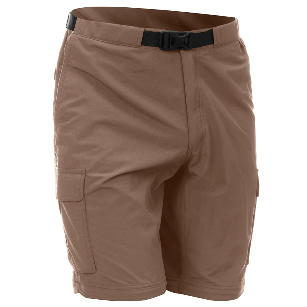 EMS Men's Camp Cargo Zip-Off Pants - FOSSIL