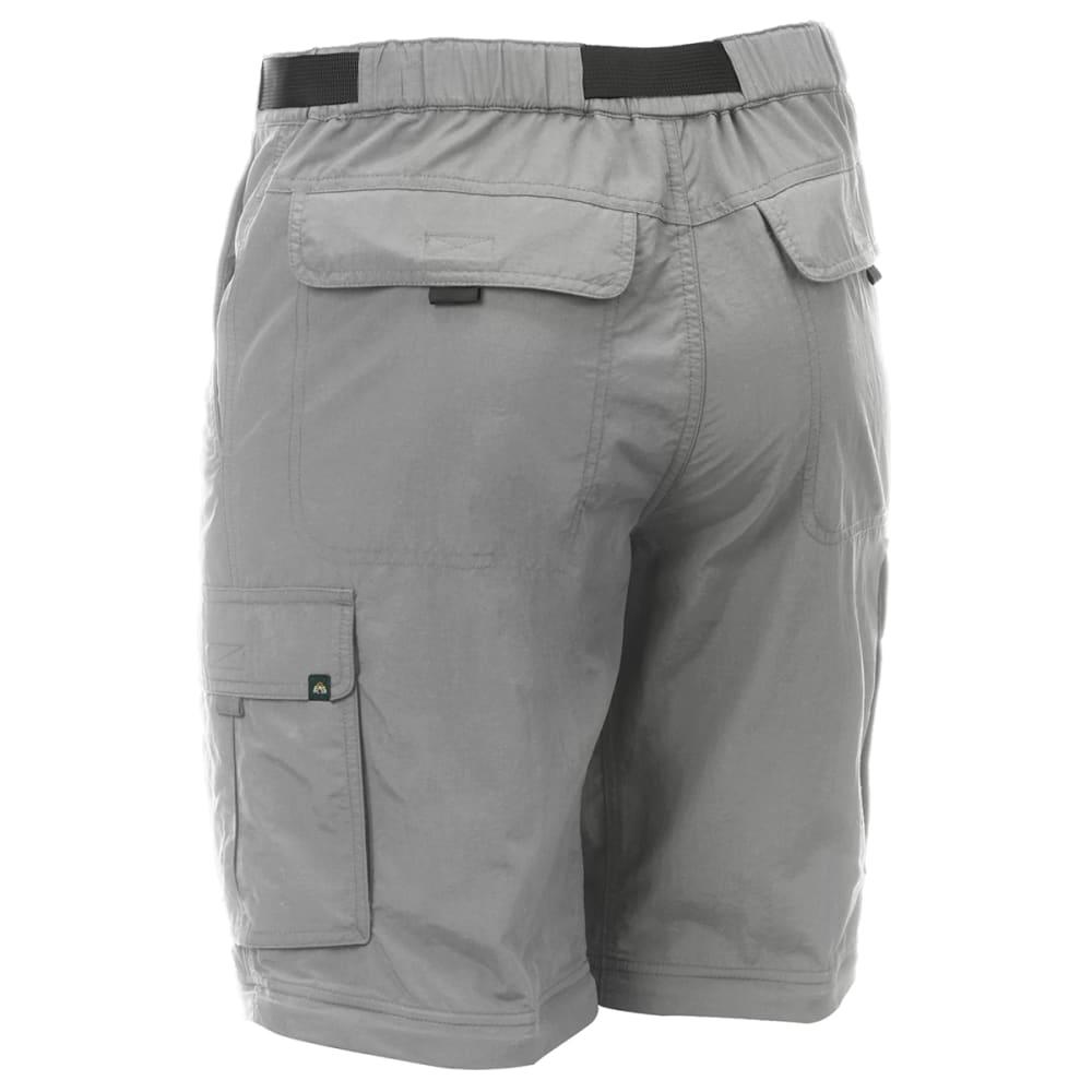 EMS Men's Camp Cargo Zip-Off Pants - NEUTRAL GREY